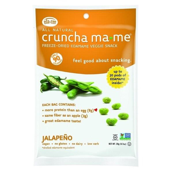 Eda-Zen Cruncha Ma Me - Jalapeno - .7 oz - Case of 8