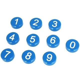 10 Pcs Arabic Number Pattern Whiteboard Fridge Refrigerator Magnets