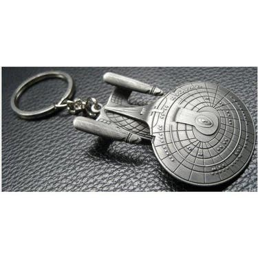 Star Trek Enterprise NCC-1701-D Key Ring - Silver