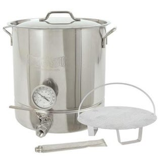 Bayou Classic 800-416 16 Gallon Premium 6pc Brew Kettle - Stainless Steel