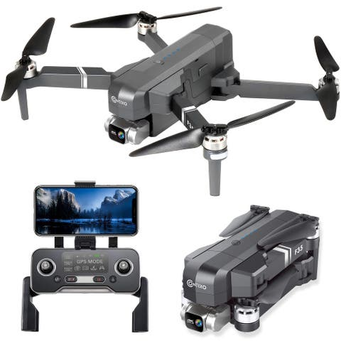 Contixo F35 Drone with 2-Axis Self-Stabilizing Gimbal, 5000ft Fly Range 4K UHD Camera 5G Wi-Fi FPV RC Quadcopter Brushless