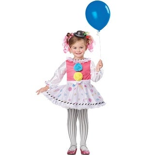 California Costumes Bubbles the Clown Toddler Costume - Rainbow