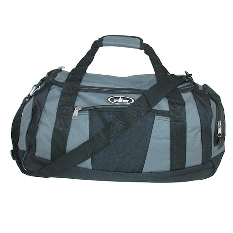 Everest Casual Sports Duffel Gym Bag with Wet Pocket - one size