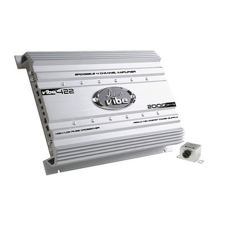 Vibe 2000 Watt 4 Channel Mosfet Amplifier