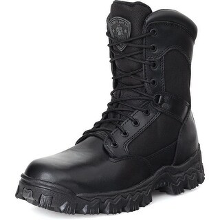 "Rocky Tactical Boots Mens 8"" Alphaforce Waterproof Black"
