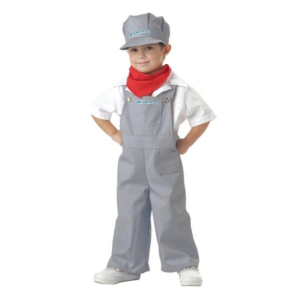 Toddler Amtrak Engineer Costume