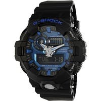 Casio Men's G Shock  Black Rubber Quartz Sport Watch