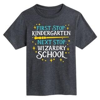 Wizardry School Kindergarten - Youth Short Sleeve Tee
