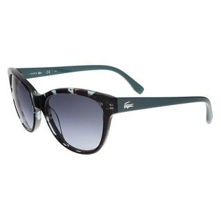 L785/S 466 Petrol Havana Cat Eye Sunglasses - petrol havana - 55-17-140