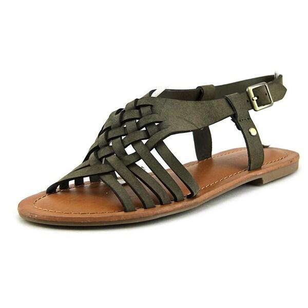 Indigo Rd. Brea Women Open-Toe Synthetic Green Slingback Sandal