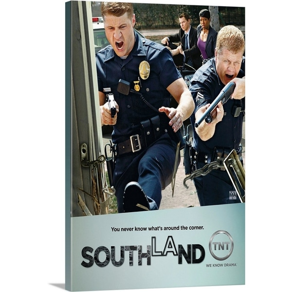 """Southland - TV Poster"" Canvas Wall Art"