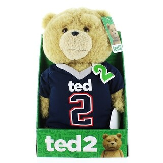 "Ted 2 11"" Talking Plush Ted In Football Jersey (Rated R)"