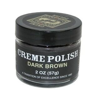 Bickmore Dark Brown Creme Leather Polish - Dark Brown