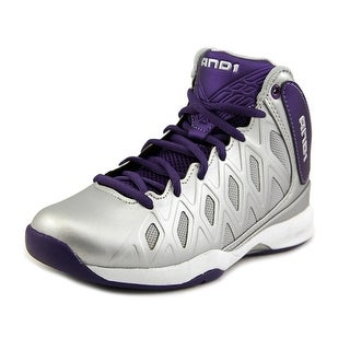 And1 Unbreakable Mid Youth Round Toe Synthetic Basketball Shoe