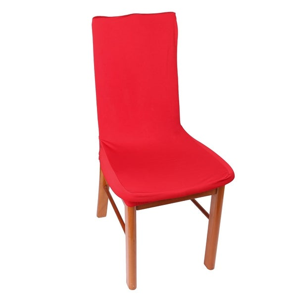 Unique Bargains Spandex Removable Stretch Chair Protector Seat Cover  Slipcover