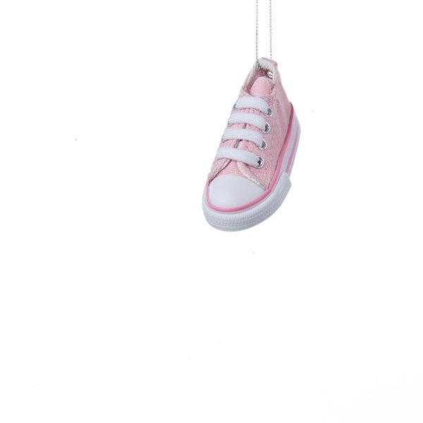 """3.5"""" Pink Low-Top Sneaker Decorative Christmas Ornament"""