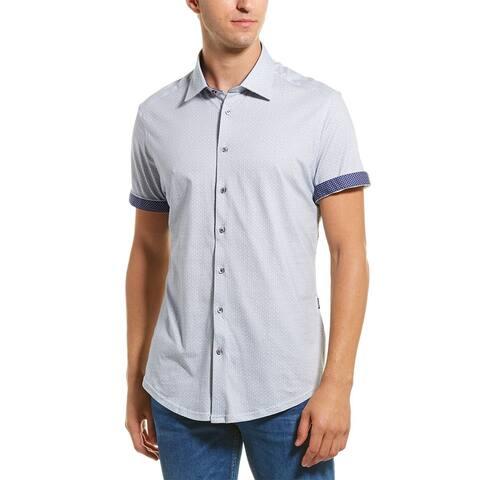 Stone Rose Printed Woven Shirt