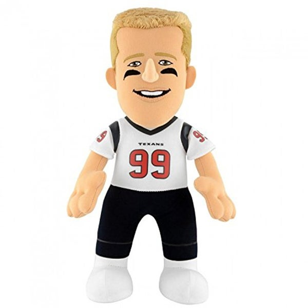 "Houston Texans NFL 10"" Plush Doll: JJ Watt Road (White Jersey) Bleacher Creature - multi"