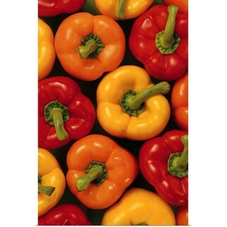 """Bell peppers"" Poster Print"