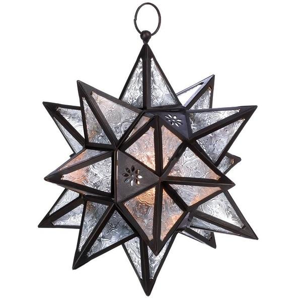 Beautiful Hanging Moroccan Star Lantern