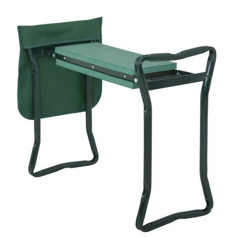 Garden Kneeler Seat Folding Garden Stool Bench