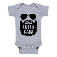 I Have A Fuzzy Papa - Infant One Piece