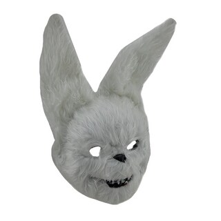 Hairy Scary Furry Evil Bunny Rabbit Mask
