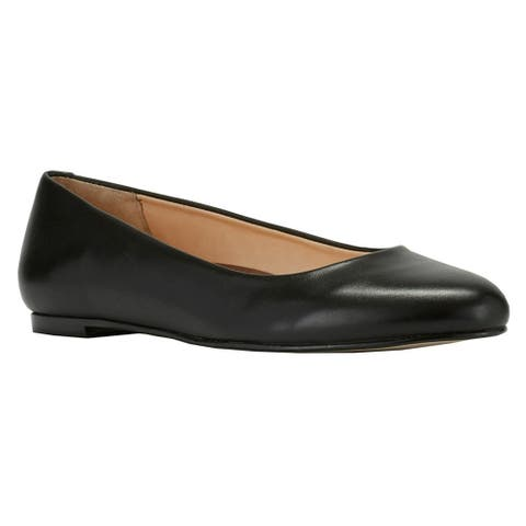 Walking Cradles Womens Bronwyn Leather Closed Toe Slide Flats