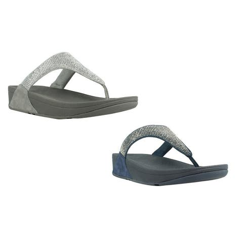 9c4f07143 FitFlop Womens Slinky Rokkit Toe-Post T-Strap Sandals