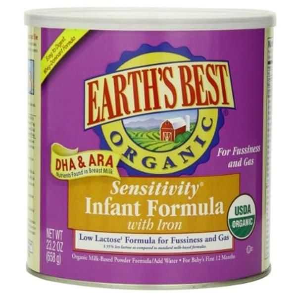 Earth's Best - Organic Sensitive Infant Formula ( 4 - 23.2 OZ)
