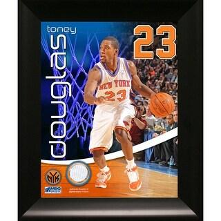Toney Douglas New York Knicks Game Used Pants 11x14 Framed Collage