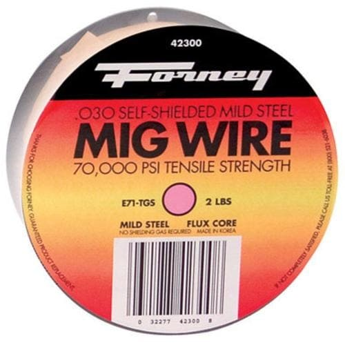 "Forney 42300 Flux Core Welding Wire 0.030"", 2 lbs"