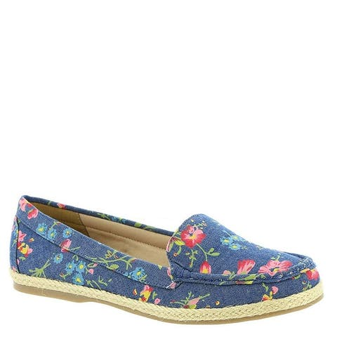 Beacon Womens Jessie Fabric Closed Toe Loafers