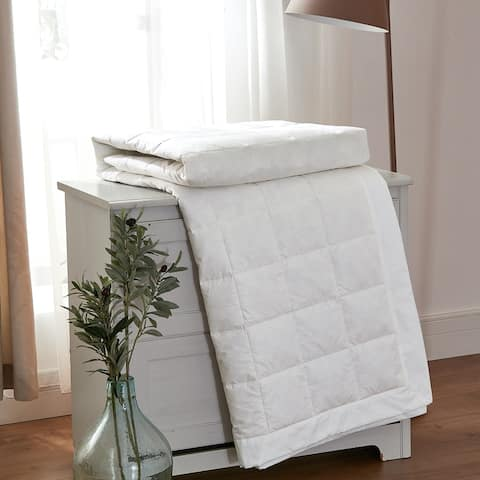 Minifeather All-Season Duck and Down Bed Blanket