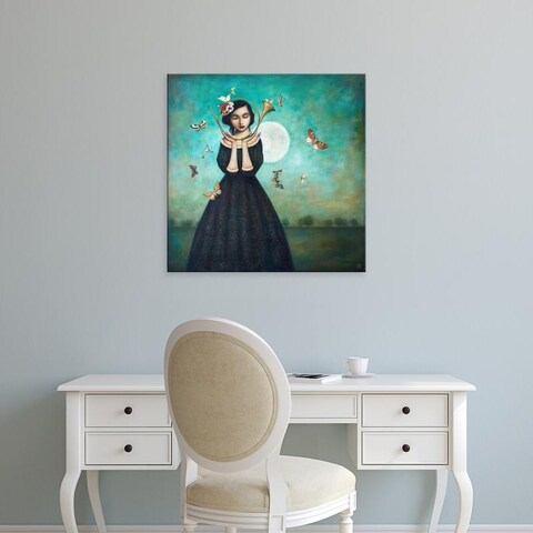 Easy Art Prints Duy Huynh's 'Evening Echoes' Premium Canvas Art