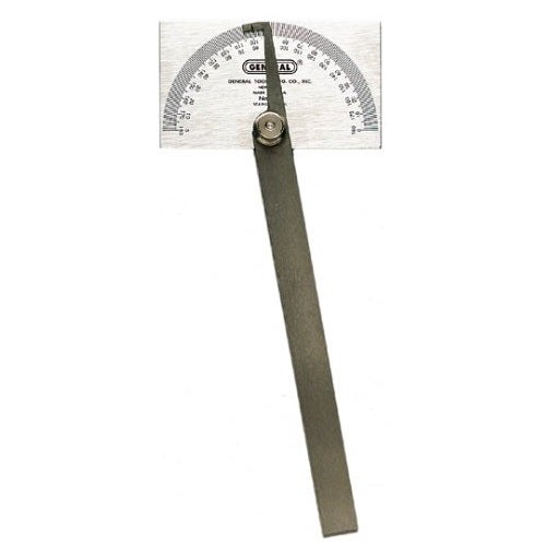 "General 17 Square Head Protractor, 3-3/8"" x 2"""
