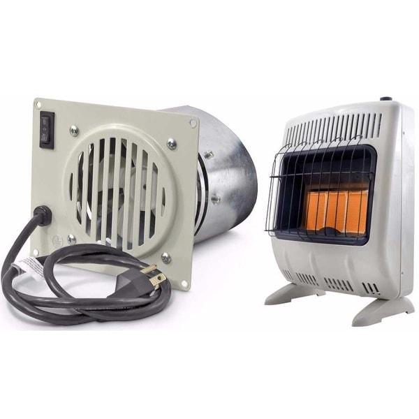 Mr  Heater 20,000 BTU Vent Free Radiant Propane Heater & Blower Bundle