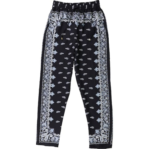 DKNY Womens Daytime Casual Lounge Pants, Blue, X-Large