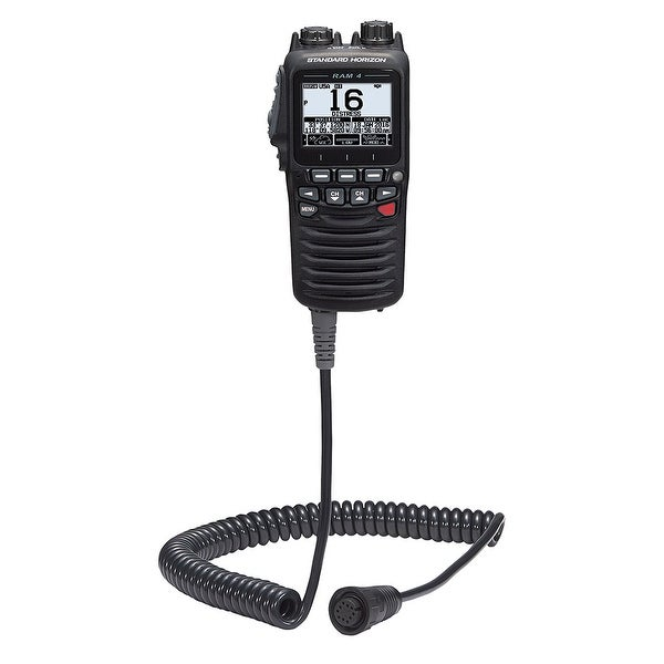 <p>Standard Horizon Wired Remote Access Microphone RAM4 f/GX6000 & GX6500</p>