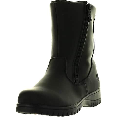 Totes Womens Rosie 2 Winter Waterproof Snow Boots - Black