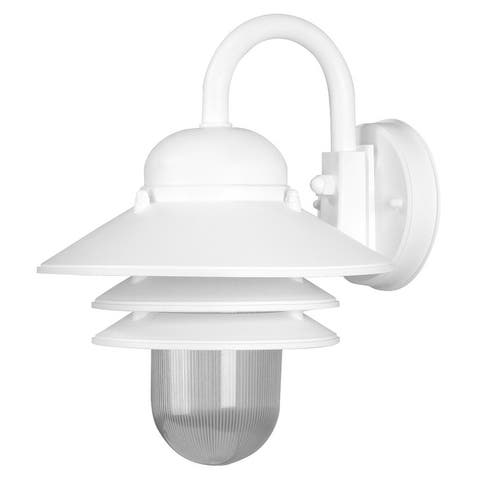 Nautical 3000K LED Outdoor Wall Mount