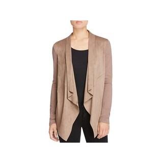 Bagatelle Womens Casual Blazer Drapey Long Sleeve