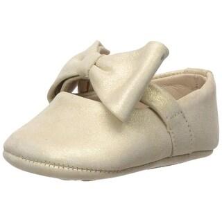 Elephantito Kids' Baby Ballerina with Bow Crib Shoe - 0 m us infant