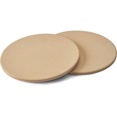 "Napoleon 70000 10"" Personal Sized Pizza/Baking Stone Set - Multi"