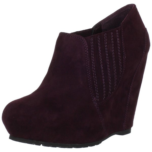Luxury Rebel Women's Kera Wedge Ankle Booties - 8.5