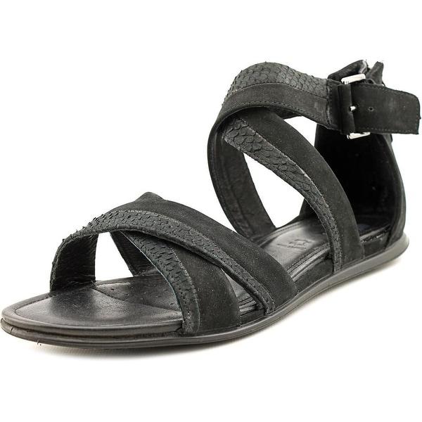 c86986012 Shop Ecco Touch sandal Women Black Black Sandals - Free Shipping On ...