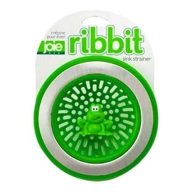 """Joie MSC 10029 Ribbit Sink Strainer, 4.5"""" x 1.5"""" deep"""