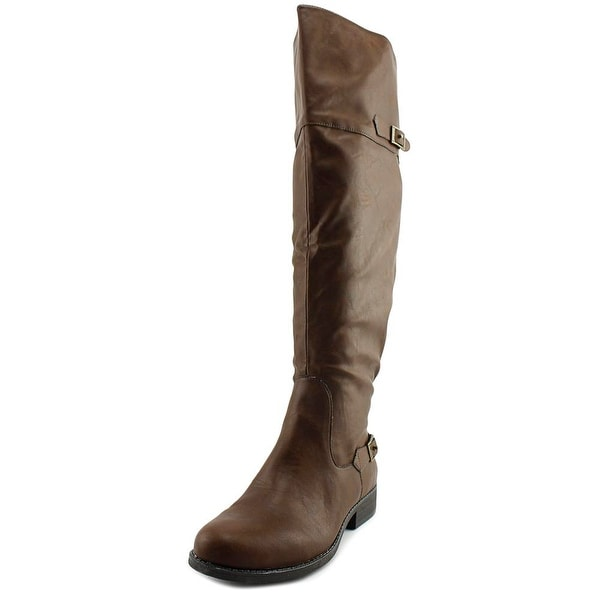 American Rag Aada Wide Calf Women Brown Boots
