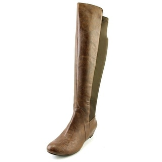 Jessica Simpson Joline  Women  Round Toe Synthetic Brown Over the Knee Boot