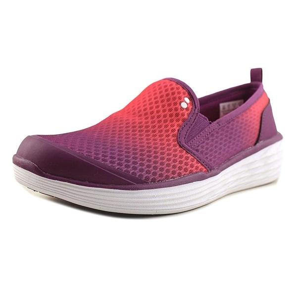 Ryka Womens neve Fabric Low Top Slip On Walking Shoes